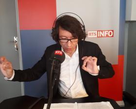 Éric Fiat était invité sur RTS à l'émission VERSUS/PENSER