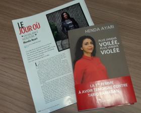Henda Ayari dans Paris Match