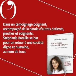 """PARUTION   Aujourd'hui en librairie, """"Mon histoire, c'est votre histoire"""", de Stephanie..."""