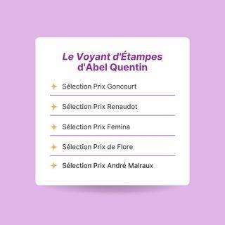 #Prixlittraires Le Voyant dtampes dAbel Quentin est dans la slection des prix Goncourt,...