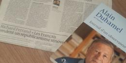 Alain Duhamel dans le Monde