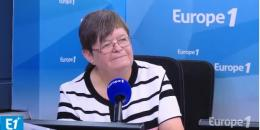 Claudine Fischer dans la Matinale d'Europe 1