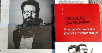 Nicolas Gardères dans je journal Libération