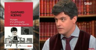 """Gaspard Koenig dans l'émission """"Livres & Vous"""" de Public Sénat"""